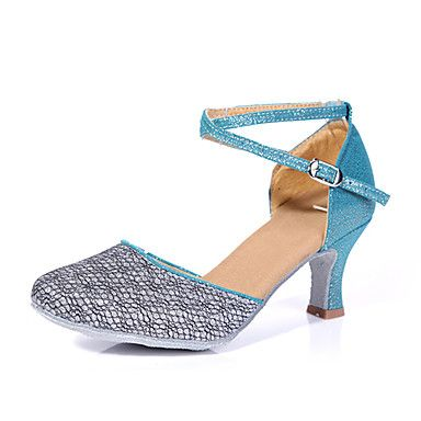 Special Women's Suede & Tulle Modern/Latin Ballroom Dance Shoes