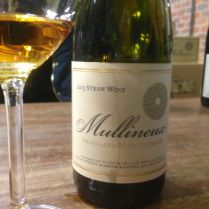 2013 Straw Wine is viscous and full of apricot aromas and flavors, intensely sweet but with a clean finish. #Swartland