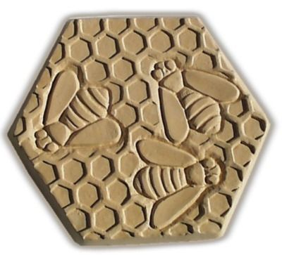 Bees Stepping Stone Mold - Garden Molds