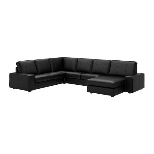 KIVIK Sectional, 5-seat, Grann, Bomstad black - Grann/Bomstad black - IKEA