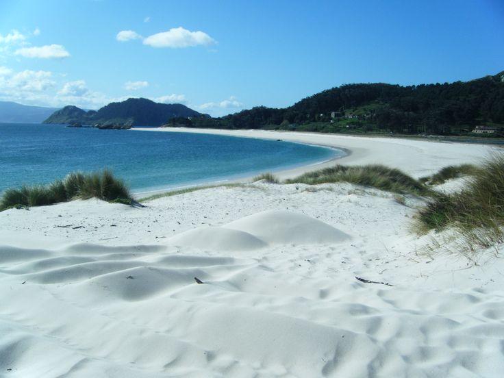Playa de roda islas cies