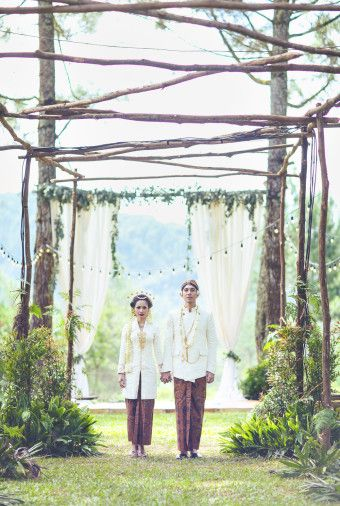 A Glimpse Of Andien And Ippe's Intimate Wedding  - 002
