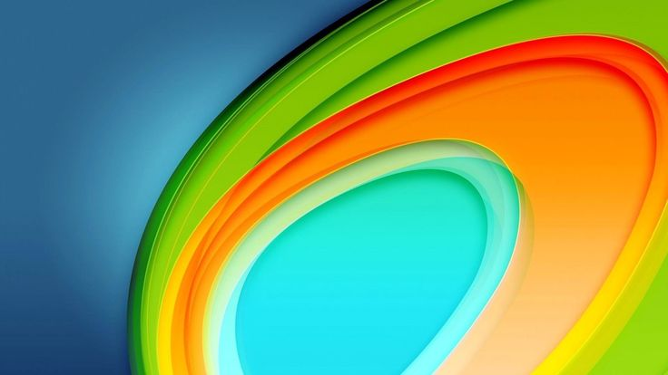 абстракция, радуга, линии 1920 x 1080