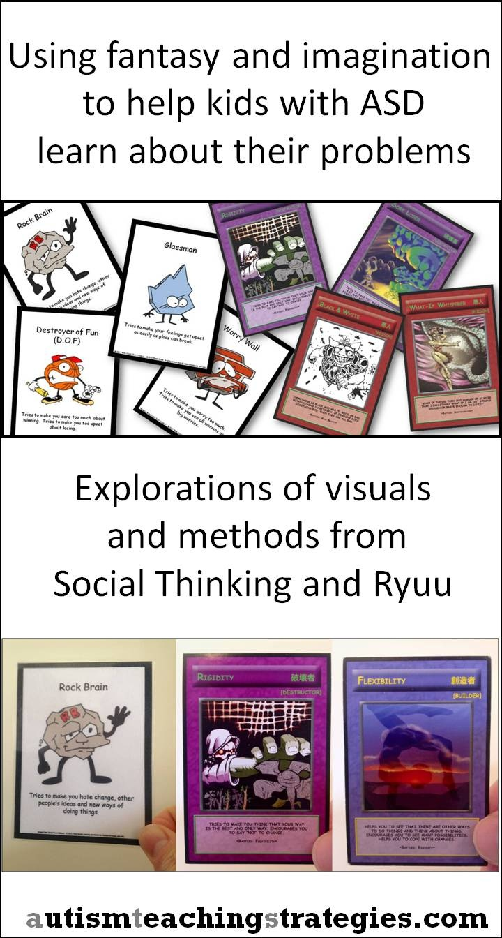 Social Thinking Unthinkables and Ryuu Dragon cards are fun and useful for social skills work.