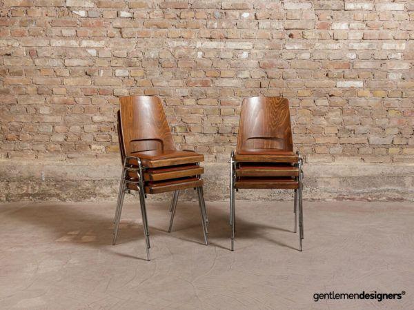 Chaises Jomain Baumann Assise En Simili Cuir Cognac Circa 1960 En 2020 Simili Cuir Baumann Chaise