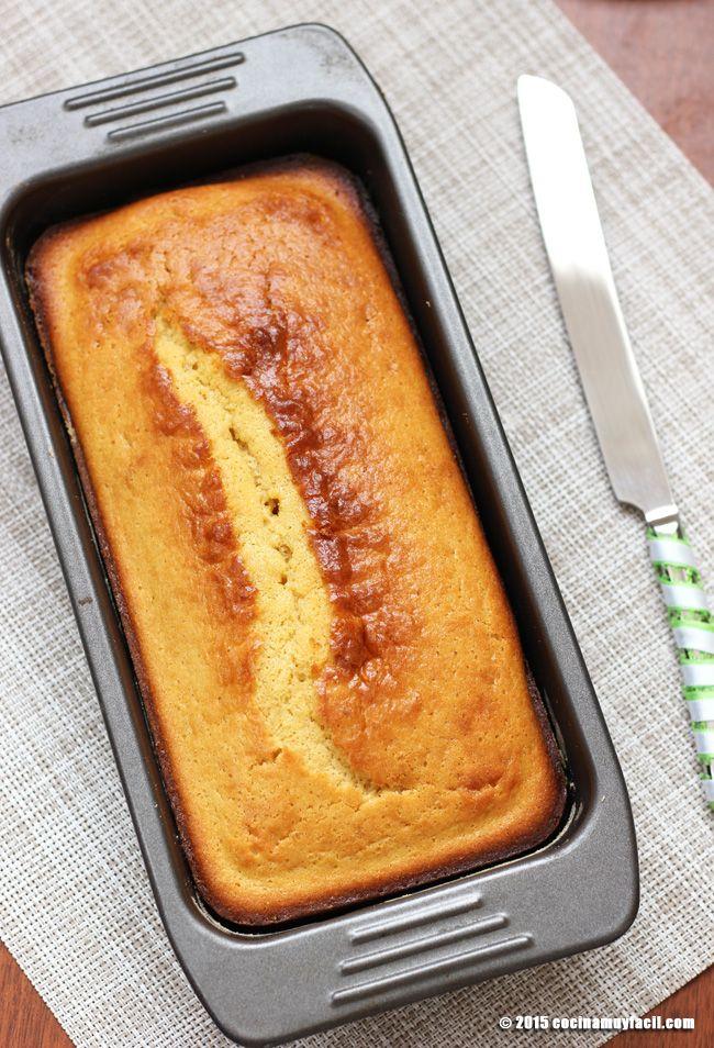 Receta de pan de natas casero, ideal para el desayuno y la merienda | Cocina Muy Fácil | http://cocinamuyfacil.com