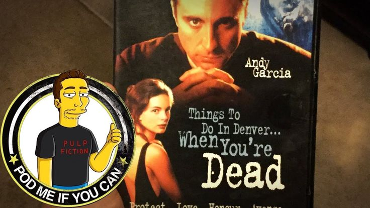 """A review on the 90s Gangster movie 'Things To Do In Denver When Your Dead' starring Andy Garcia Christopher Lloyd and Christopher Walken"""" [VIDEO 5mins] https://www.youtube.com/watch?v=7lbyeBhAQ74 #timBeta"""