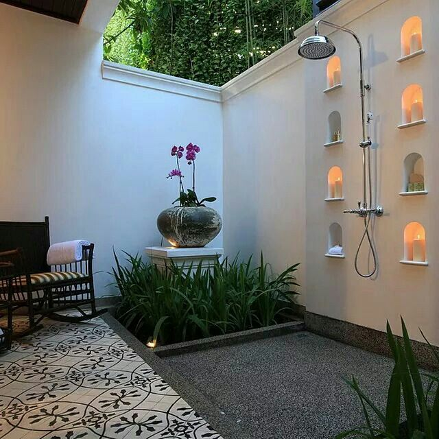 Outdoor Bath Room