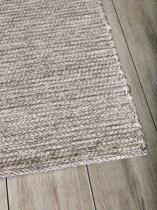 The Rug Collection - Xylo Natural/Light Grey 250x350