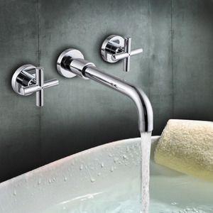 Best Wall Mount Chrome Cheap Bathroom Faucet, $52.99