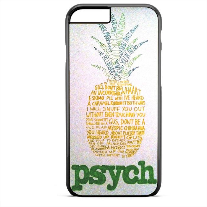 Psych Pineapple Detective Agency Apple Phonecase For Iphone 4/4S Iphone 5/5S Iphone 5C Iphone 6 Iphone 6S Iphone 6 Plus Iphone 6S Plus