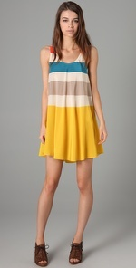 marc by marc jacobs; simone stripe short dress  wish it wasn't long gone. this would've been good for spring break