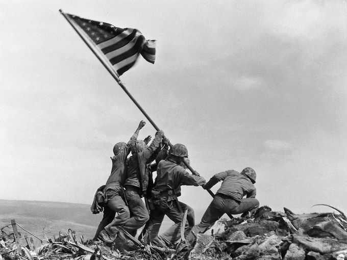 This week, tomorrow to be exact, is the 70th anniversary of one of the most patriotic and most iconic photos in American history. On Feb. 23, 1945, 33-year-old Associated Press photographer Joe Rosenthal, who had been rejected from the Army because of poor eyesight, took a photograph that would ultimately become one of the most recognizable and reproduced images ever.