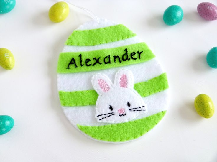 246 best shop hometown usa images on pinterest in time for easter etsy shop easter eggs ornaments felt ornaments easter egg ornaments personalized gift card holders money holders easter bunny chick negle Choice Image