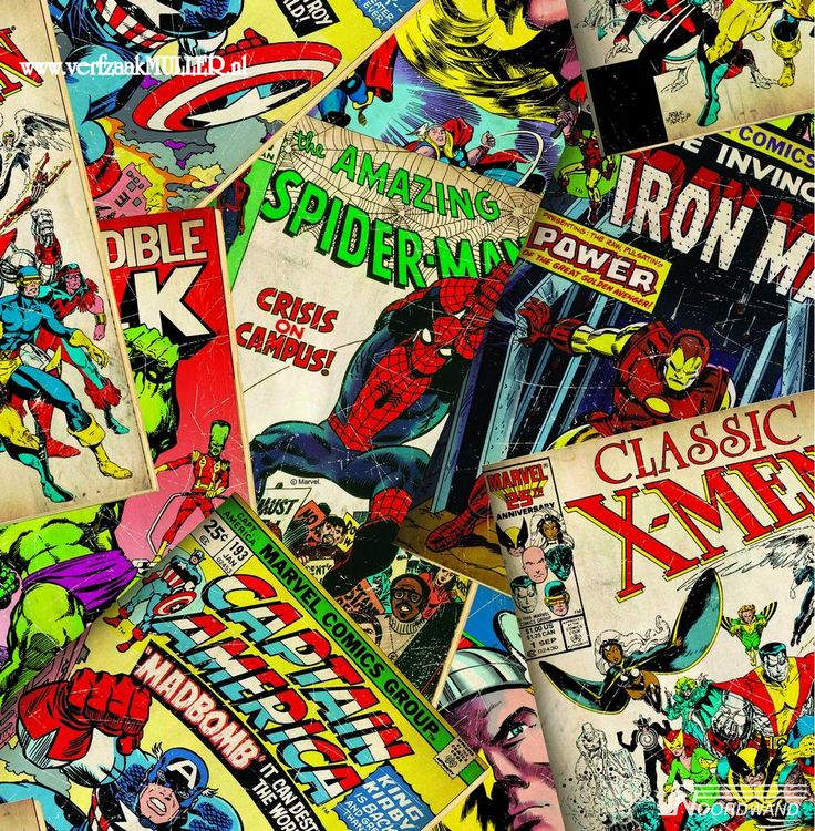 Marvel Comic Wallpaper By Graham U0026 Brown Flippin Awesome!