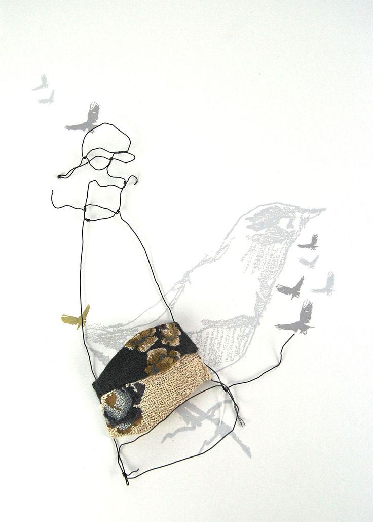 JULIA JOWETT beautifully stitched work with wire
