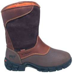 Timberland PRO Boots: Men's 89652 Excave Met Guard EH Steel Toe Boots - Steel Toe Wellington Boots - Men's Steel Toe Boots - Footwear
