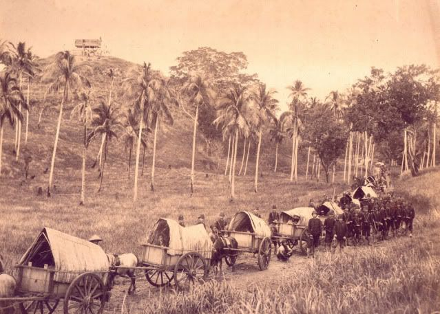 Barisan Angkutan dan Tangsi Belanda di Pengapet – 1874