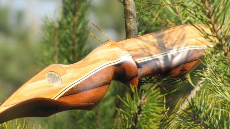Mind-factor Recurve Wuidara Bogensport - Recurvebogen - Jagd - Holzkunst - Epoxy - Resin