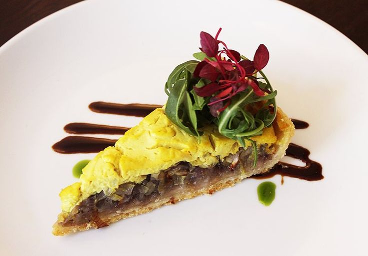 Our 3Onion Tart is perfect for a light lunch addhellip