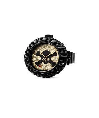 Pimlico black skull dial ring watch Sale - Vivienne Westwood Sale