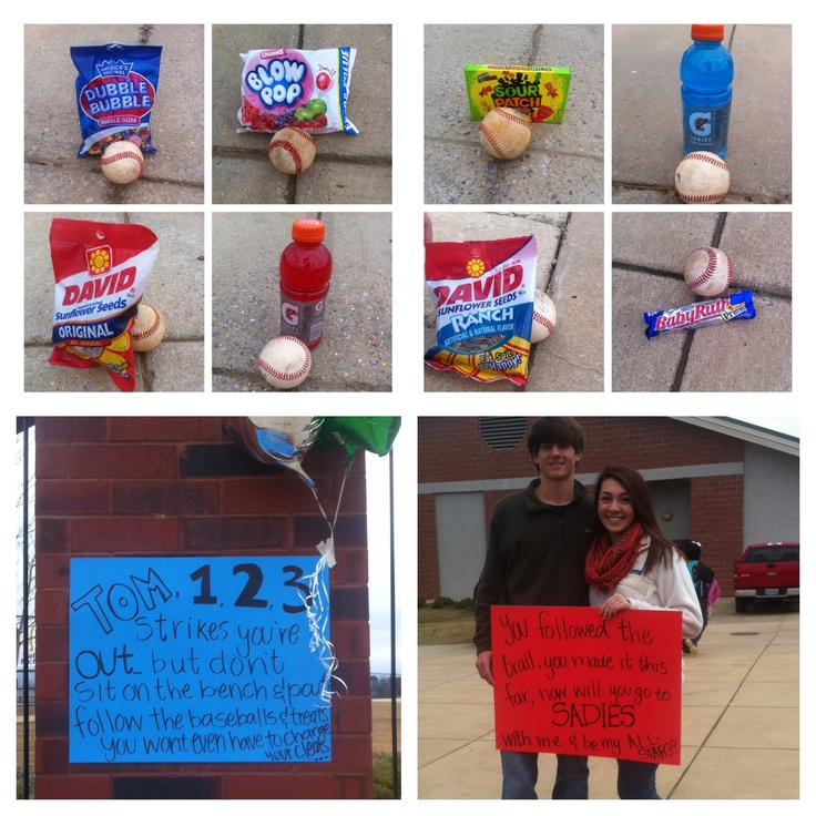 Stem School Prom: Best 25+ Baseball Promposals Ideas On Pinterest