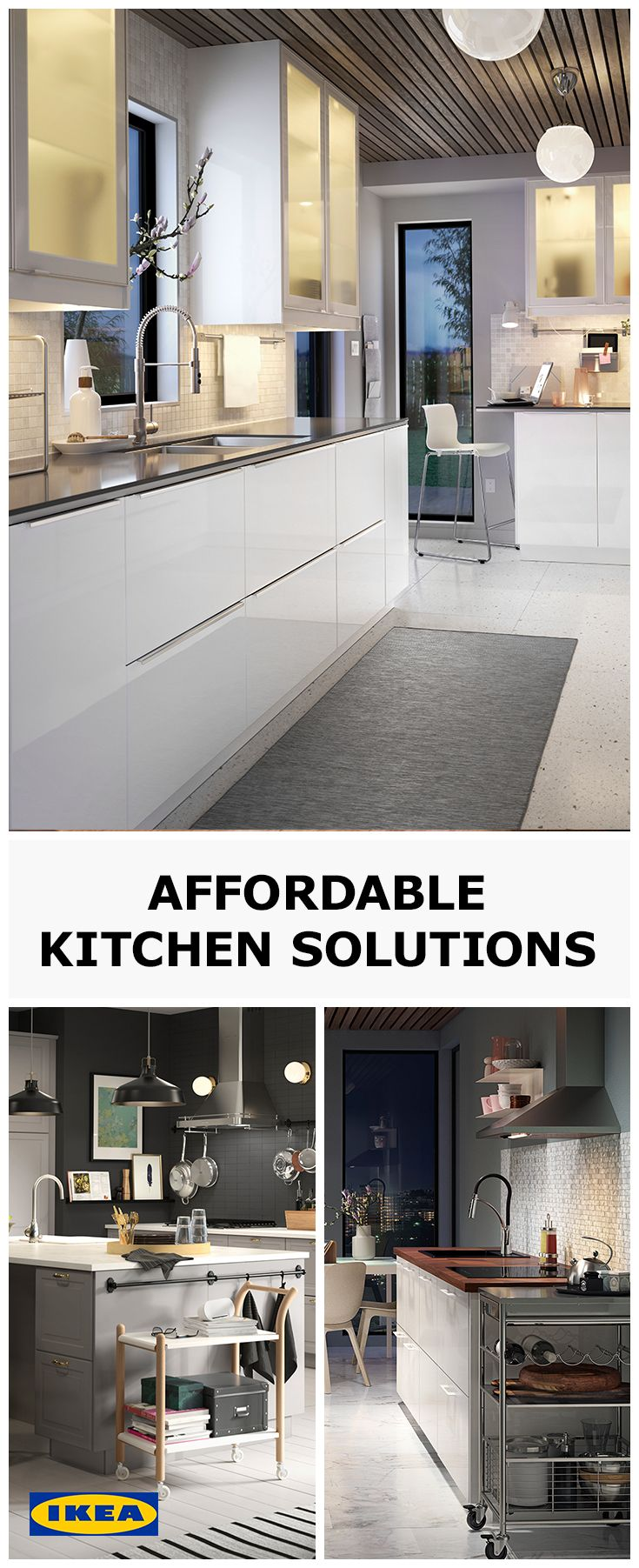 From preparing breakfast with loved ones, to hosting a meal with friends, the kitchen is an important part of any home. With so many affordable styles to choose from, why not treat your home to a high quality kitchen from IKEA.