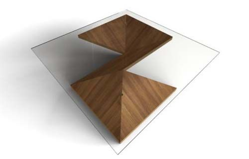 Origami Table Design from Martin Pitonak