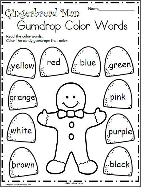36 best Kindergarten December images on Pinterest
