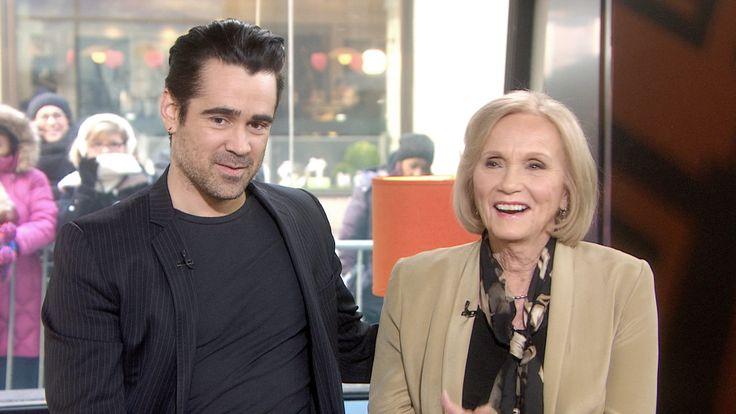 'Winter's Tale' stars Colin Farrell, Eva Marie Saint flirt during TODAY visit