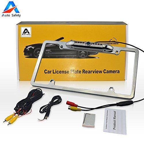 Car Rear View Backup Camera Auto Safety Universal USA Metal Shell Car License Plate Frame Mount Parking/Reverse Assistance 170 Degree Wide Angle With 8 IR LED Night Vision waterproof(Silver) For Sale https://wirelessbackupcamerareviews.info/car-rear-view-backup-camera-auto-safety-universal-usa-metal-shell-car-license-plate-frame-mount-parkingreverse-assistance-170-degree-wide-angle-with-8-ir-led-night-vision-waterproofsilver-for-sa/