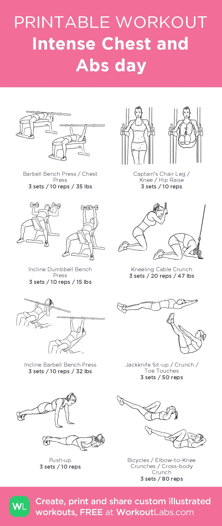173 best Free Printable Workouts images on Pinterest