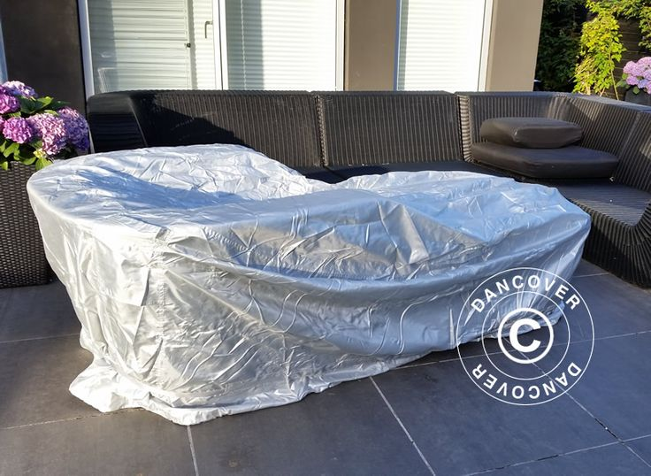 GARDEN FURNITURE COVER 274X208X90 CM Garden furniture cover from Dancover is a high quality cover with a sturdy strap and buckle that makes the cover one of the best solutions on the market! The cover gives you the ultimate weather protection for your garden furniture.