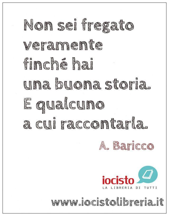 www.iocistolibreria.it #iocistolibreria #lalibreriaditutti #baricco #novecento #frasi #libri #citazioni #parole