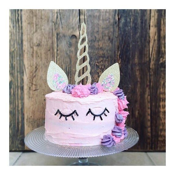 Large sparkly unicorn cake topper/ cake decoration / unicorn decoration /party supplies by PaperRainbowCompany on Etsy https://www.etsy.com/uk/listing/524189996/large-sparkly-unicorn-cake-topper-cake