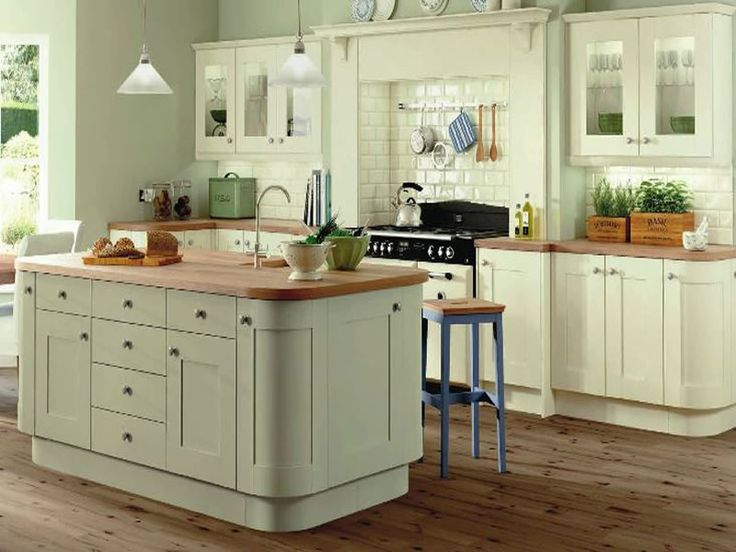 Symphony Kitchens - Rockfort in Ivory and Sage