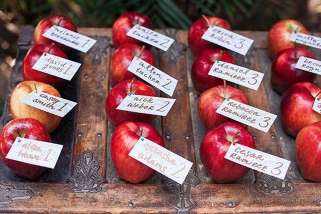 Сезон открыт: яблоки и груши для осенней свадьбы - The-wedding.ru