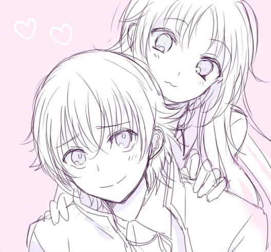 Shiro and Neko // K Project