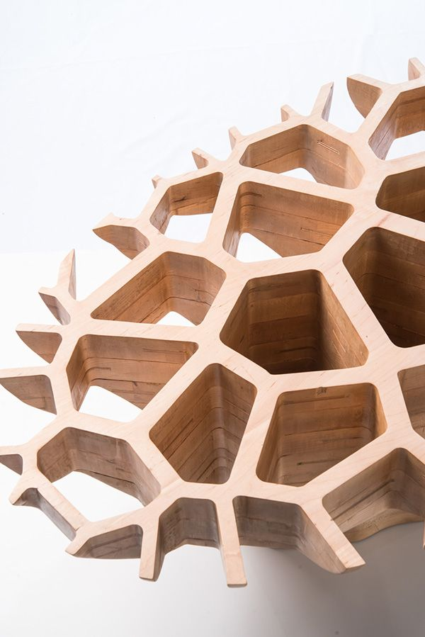 M3 by Javi Olmeda, via Behance... interesting idea for inlay or chambering design