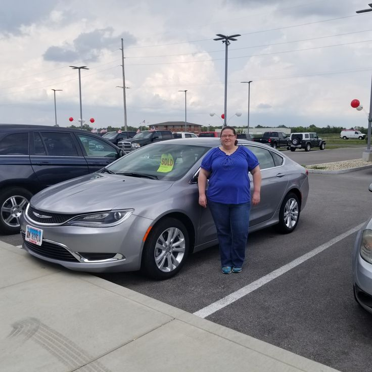 Congratulations to Tina  on your 2015 Chrysler 200! We appreciate the opportunity to earn your business and We Love To See You Happy! Thank-you from all of us at SCDJR! - Julie