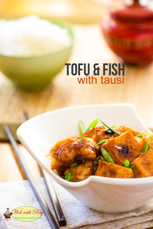 Tofu and Fish with Tausi | @Wok with Ray