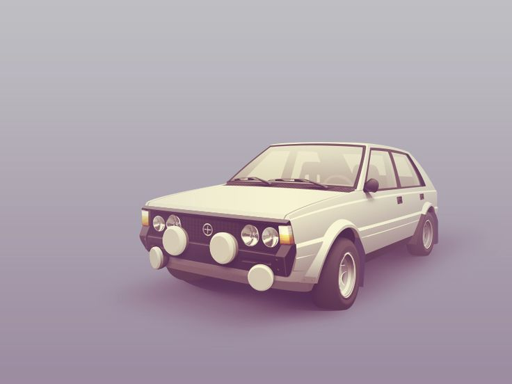 Fso Polonez 2000 Rally Icon by Victor