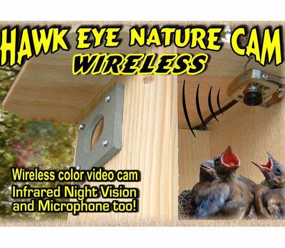 Hawk-Eye Wireless Spy Camera