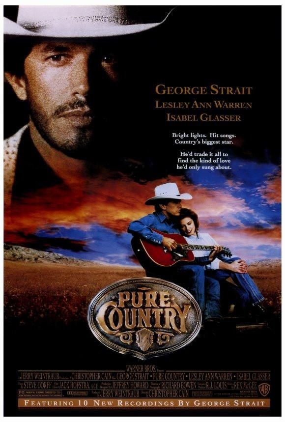 Pure Country 27x40 Movie Poster 1992 Videos De Musica Country