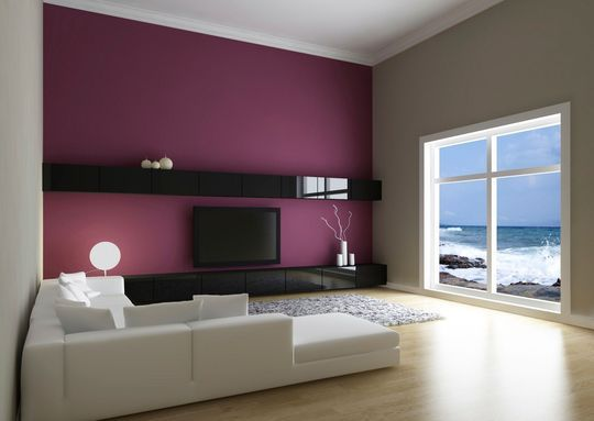 peinture lumineuse pour salon maison design. Black Bedroom Furniture Sets. Home Design Ideas