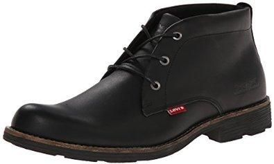 #Amazon: Levis Men's Allen Chukka Boot (Black) $32.24  Free Shipping w/Prime #LavaHot http://www.lavahotdeals.com/us/cheap/levis-mens-allen-chukka-boot-black-32-24/67620