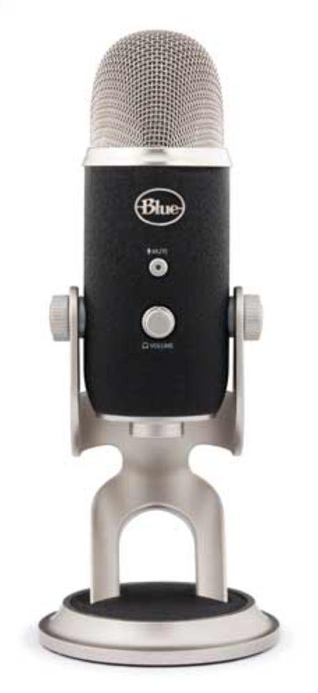 Blue Microphones Yeti Pro USB Microphone Four Pattern #maxstrata #bluemicrophones #bluemic #music #audio #usb #microphone #yetipro #artist #singer #musician #dj #studio