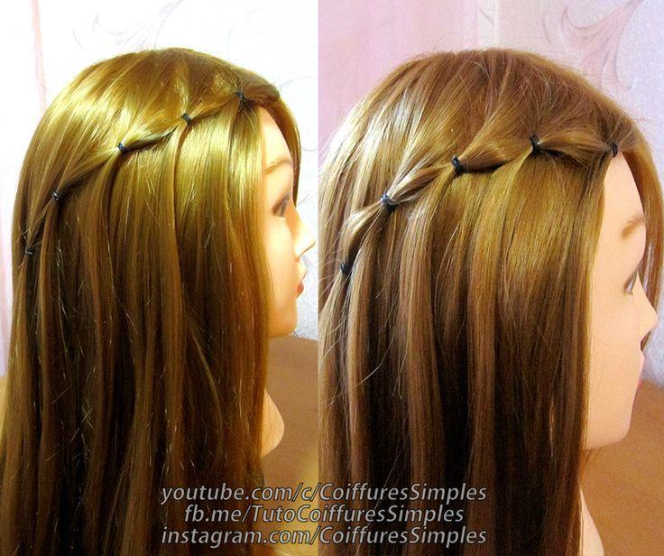 Coiffure Rapide Cheveux Mi Long Perfect Coiffure Simple Et