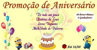 ALEGRIA DE VIVER E AMAR O QUE É BOM!!: RESULTADO DO SORTEIO #48 - PROMOÇÃO DE ANIVERSÁRIO...
