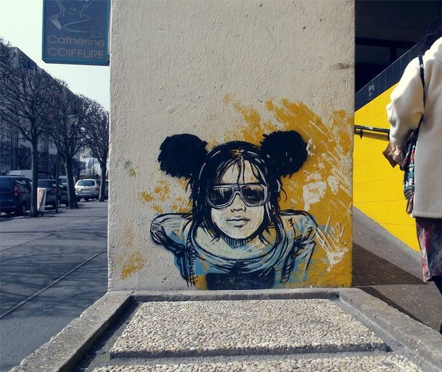 Street Art Girl Urban Art Street Art Art